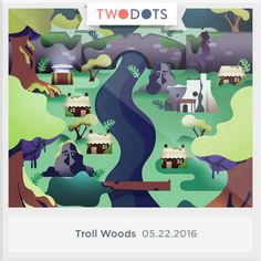 I found the Raised Runestone buried in the Troll Woods. Can you? - playtwo.do/ts #TwoDots