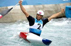 Tony Estanguet triple champion olympique