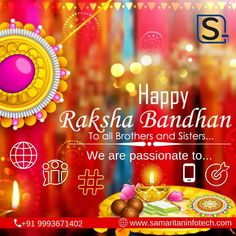 The warmth of #love between #brothers and sisters should remain #life-long. Happy #Rakshbandhan. #SamaritanInfoTech are pioneer in #Website #development & designing services, #Mobile application #development (Android, IOS) & SEO #services in Indore, #India. More Info. www.samaritaninfotech.com   #india #rahi2019 #rakshabandhan #festival #sisterlove #WebsiteDesign #WebDevelopment #SEOCompanyinIndoreIndia #WebsiteDesignCompanyinIndore #SEOcompanyinIndore #CheapWebsiteDesignCompanyIndia Application Development, Mobile Application, Design Development, Software Development, Social Media Marketing Agency, Internet Marketing, Digital Marketing, Indore, Cheap Website Design
