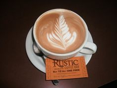 Rustic Coffee in Bellingham, WA