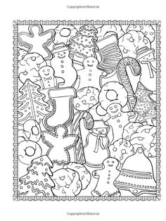 Creative Haven ChristmasScapes Coloring Book (Creative Haven Coloring Books): Jessica Mazurkiewicz: 9780486791876: Amazon.com: Books