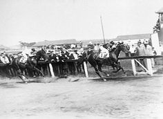 In the Dwyer, Man o' War found some competition in John P. Grier.