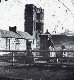 The Tower, Portobello  -  Photograph from the 1850s by Thomas Vernon Begbie