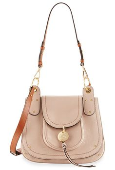 Leather Flap Shoulder Bag by See By Chloe. See by Chloe grained leather  shoulder bag 6268b0d01750a