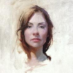 Garabating — garabating:  Jeremy Lipking  Portrait demo of...
