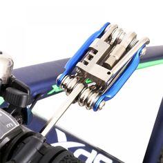 Mini Repair Tool 11 in 1 Bicycle Moutain Road Bike Tool Cycling Multi Repair Tools Kit Wrench Bike Repair Tools Bicycle Tools, Mtb Bicycle, Bicycle Maintenance, Cool Bike Accessories, Retail Coupons, Bike Life, Tool Set, Road Bike, Tools Online