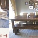 NEW AND IMPROVED Farmhouse Table Details...Tom look at the comments too...there is a lot of feedback in there