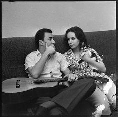 Astrud e João Gilberto, Rio de Janeiro, 1960.
