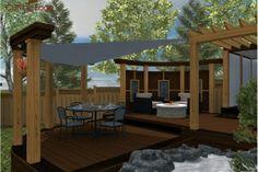 Deck Design Gallery - Paul Lafrance Design