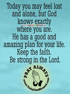how to keep your faith in god strong