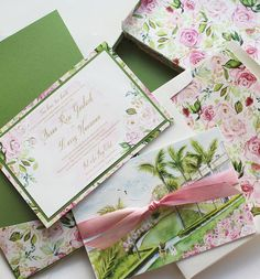 - Watercolor and Floral California Venue Illustration Wedding Stationery Top Wedding Trends, Wedding Designs, Wedding Details, Wedding Ideas, Watercolor Wedding Invitations, Floral Invitation, Wedding Logos, Wedding Stationery, Themed Weddings