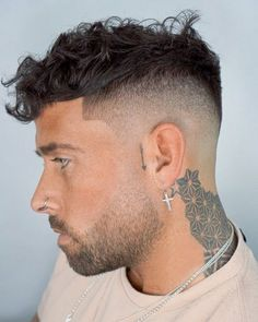 21 Best High and Tight Haircuts for Men (Popular in Top Haircuts For Men, Cool Mens Haircuts, Stylish Haircuts, High And Tight Fade, High And Tight Haircut, Short Sides Long Top, Long Tops, Comb Over Haircut, Fade Haircut