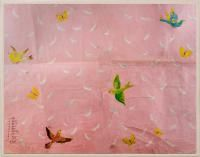Paule Marrot Feathers.  Is it possible to make a huge enlargement of this for over my bed?