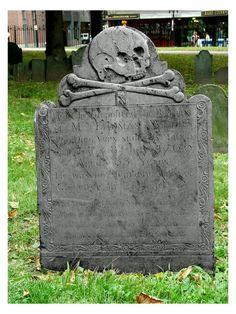 Skull grave