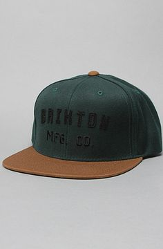 The Arden Hat in Hunter Green   Caramel by Brixton Hunter Green 1a3409519134