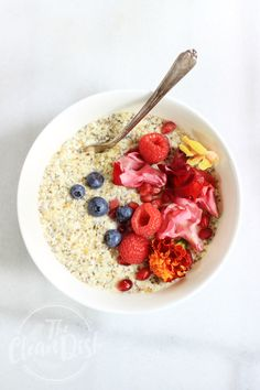 Simple Hemp Seed Porridge {vegan, grain free, gluten free, nut free, paleo}