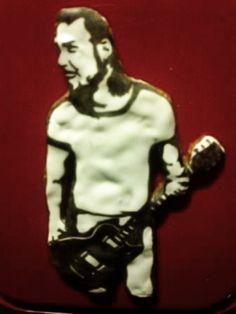 Yritin tehdä James Hetfield-piparin siskoni pyynnöstä :D -  by Eeva  -- #Piparkakku #Joulu #PipariBattle2013