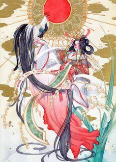 theartofanimation:  syuka-taupe - Taupe Syuka - taupesyuka - 朱華   *