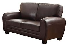 With base design elements that touch retro styling, the Rubin Collection is a perfect option for your modern home. With multiple covering options to suit your personal needs and style, the collection allows for versatile placement in a number of living room decor themes. Options include –... more details available at https://furniture.bestselleroutlets.com/living-room-furniture/sofas-couches/product-review-for-homelegance-9734db-2-upholstered-loveseat-dark-brown-bonded-