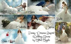 Alfred Angelo Disney Gowns Collection