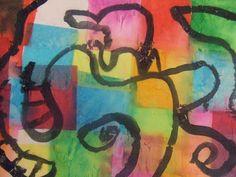 we heart art: Kindergarten's Composition VI