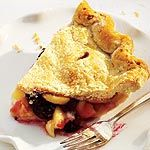 Apple Blackberry Pie - my sister made this on the weekend and it was amazing!!  Pinning so I can make it again soon!