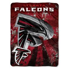 NFL Atlanta Falcons 46-Inch-by-60-Inch Micro-Raschel Blanket, Grunge Design by Northwest $24.97