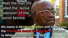 Abraham Bolden first black secret service agent