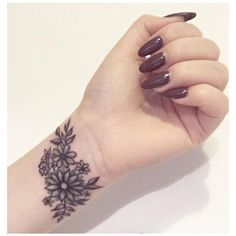 33+ Small Meaningful Wrist Tattoo Ideas ❤ liked on Polyvore featuring accessories