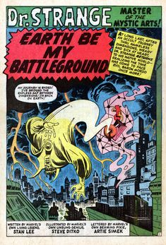 Strange Tales 134 (1965) The Search Of Eternity Begin...
