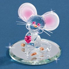 coy glass mouse