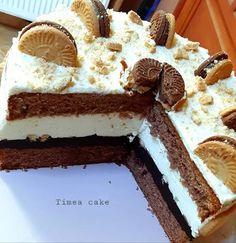 Joghurtos, csokis kekszes torta Baking, Ethnic Recipes, Food, Yogurt, Bakken, Essen, Meals, Backen, Yemek