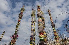 Photo about Traditional Easter palms on main market , Easter fair in Krakow. Image of holidays, bouquet, arranged - 90328031 Krakow Poland, Easter Traditions, Palms, Maine, Fair Grounds, Bouquet, Stock Photos, Traditional, Holiday