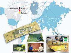 พลาสติกกันสนิมคุณภาพสูงนวัตกรรมการผลิตจากประเทศเยอรมัน Innovation, Germany, Map, Location Map, Deutsch, Maps