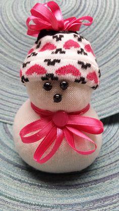Bonhomme de neige SM010 à chaussette  Suzy