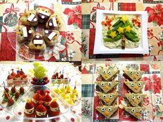 Food Decoration idea for Kid's Christmas party Christmas Party Food, Christmas Treats, Holiday Parties, Christmas Time, Childrens Christmas, Toddler Christmas, Christmas Wonderland, Food Decoration, Holidays With Kids