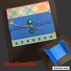Invitación hecha a mano