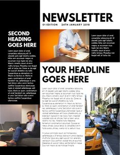 23 best newsletter samples images on pinterest newsletter sample newsletter sample design click to customize thecheapjerseys Image collections