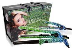 ISO Professional Hair Tools: Full Styling Set Peacock   ITAY Natural 8-Stack Eye Shimmer Terra Linda * This is an Amazon Affiliate link. Continue to the product at the image link.