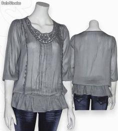 yo elijo coser: Patrón gratis blusa (tallas 34-54)