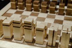 Colin crafts a great Chess Board Set using Maple and Walnut!