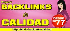 Paquete #SEO de #linkbuilding - Posicionate rapido con backlinks de calidad. VISITA:  http://ift.tt/2bvgGz6 - http://ift.tt/1HQJd81