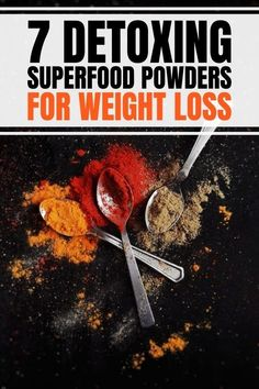 Best superfood powders for weight loss that you can add to your smoothie recipes or shake. Include healthy benefits of green powder mix, organic or vegan products and brands.#superfood #weightloss Weight Gain, How To Lose Weight Fast, Lose Weight In A Month, Weight Loss Plans, Diabetes Remedies, Health Remedies, Healthy Smoothies, Smoothie Recipes, Flat Stomach Fast