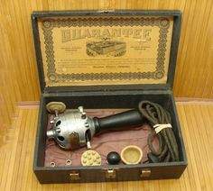 Antique western electric-western electric vibrator-old western electric massager-old western electric working massager-steampunk machine age by BECKSRELICS on Etsy