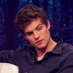 Daniel Sharman needs to stop being cute