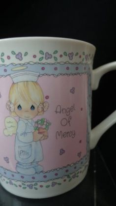 Precious Moments Angel Of Mercy Collectible Cup Precious Moments Mug - Angel, Collectible, Mercy, Moments, Precious