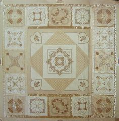latte quilt to make Machine embroidery
