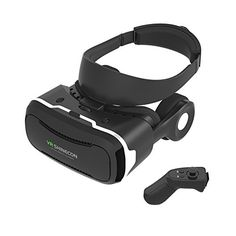 VR 3D 4th Generation Headset Virtual Reality Headset for VR Games and 3D Movie Bluetooth Remote Controller for iphone 6 6 plus Samsung S7 S6 Edge S5 Note 5 and 40 60 Inch Smart Phone >>> Read more reviews of the product by visiting the link on the image.Note:It is affiliate link to Amazon.
