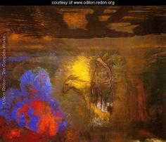 The Flight Into Egypt - Odilon Redon -