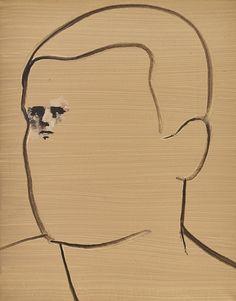 thunderstruck9: Wilhelm Sasnal (Polish b. 1972) Untitled 2004. Oil on canvas 30.2 x 24.1 cm. まじか